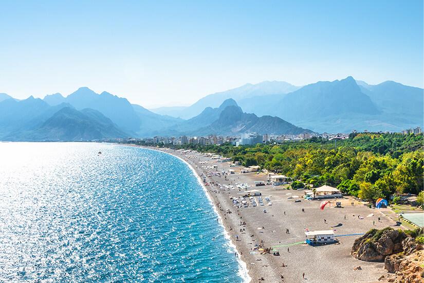 Antalya hat paradiesische Straende