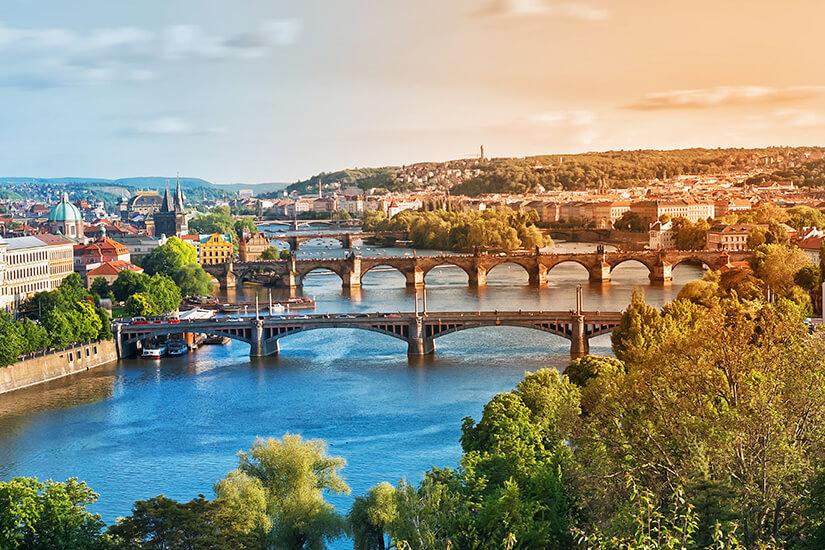 Prag und seine Bruecken