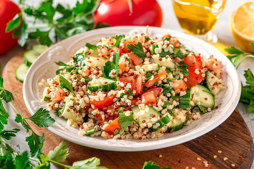 Der vegetarische Tabbouleh Salat