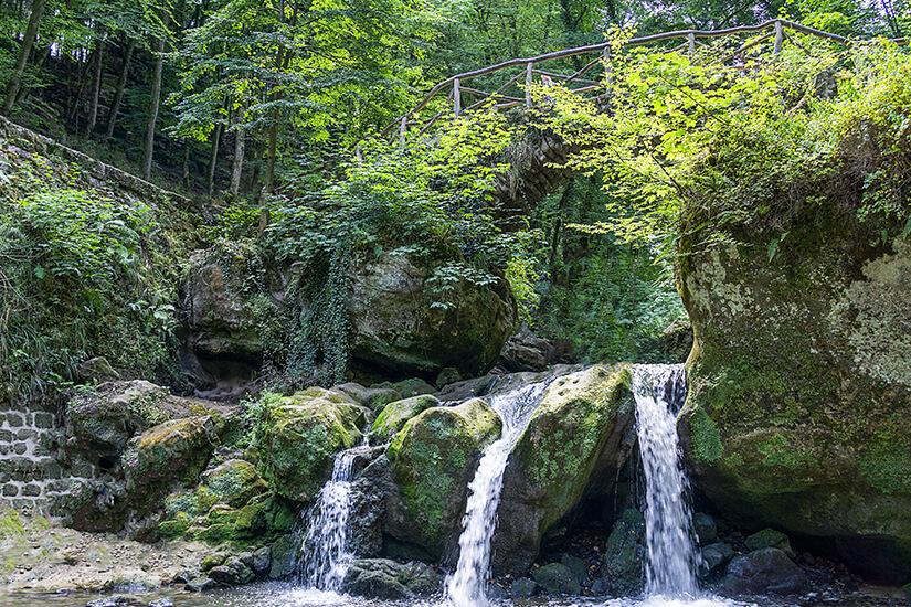 Wasserlauf im Muellerthal, Kleine Luxemburger Schweiz