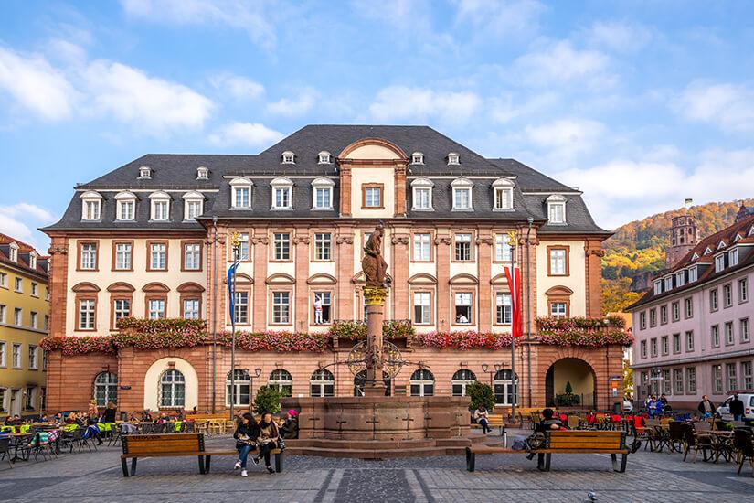 Sehenswertes Heidelberger Rathaus