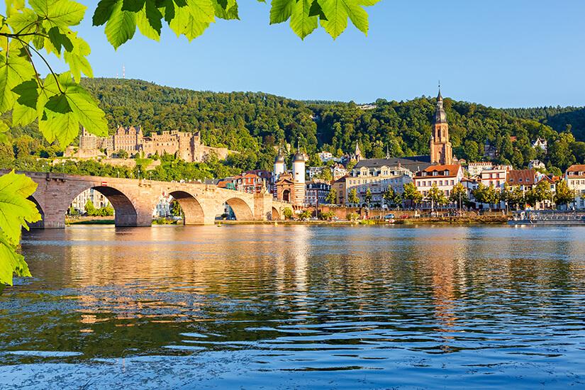 Der Neckar bei Heidelberg