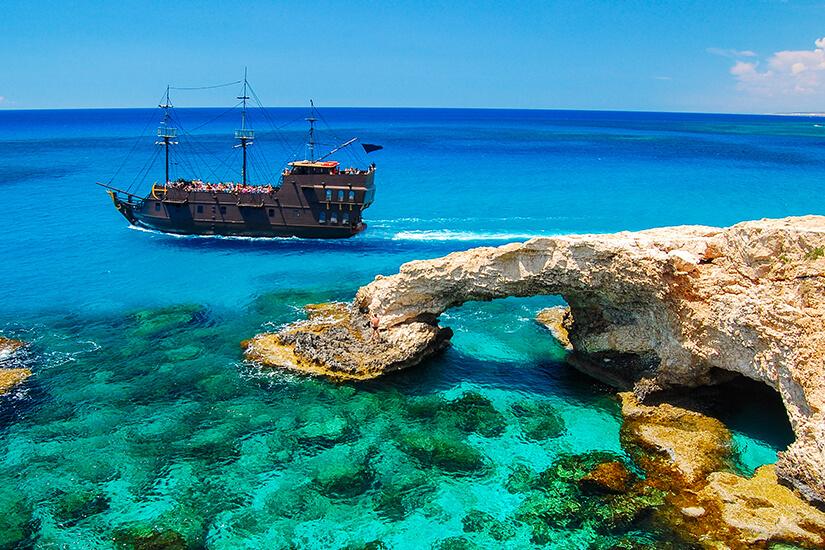 Schiffsausflug zum Kap Greco auf Zypern