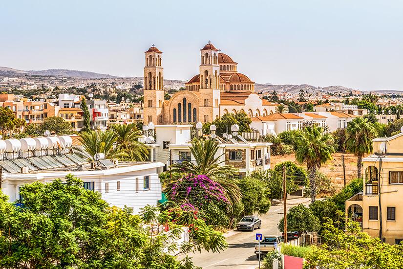 Blick auf das historische Paphos