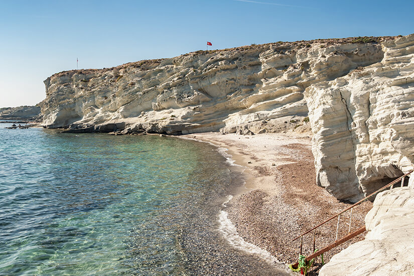 Delikli Koy Beach bei Cesme