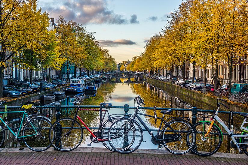 Herbststimmung in Amsterdam
