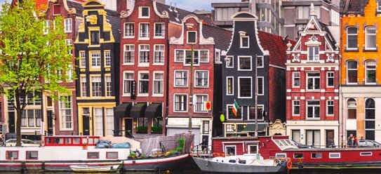 Amsterdam in Holland