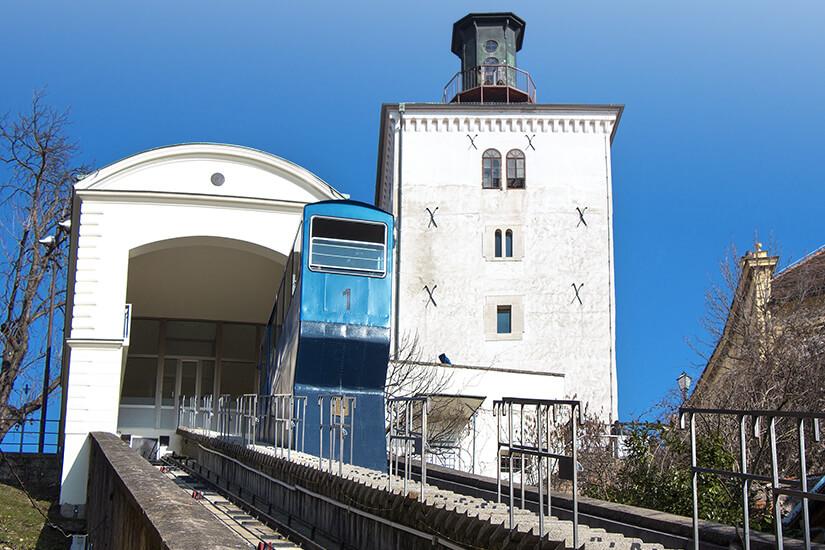 Hoch hinauf zum Lotrscak-Turm