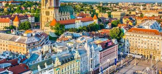 Zagreb: Hauptstadt von Kroatien