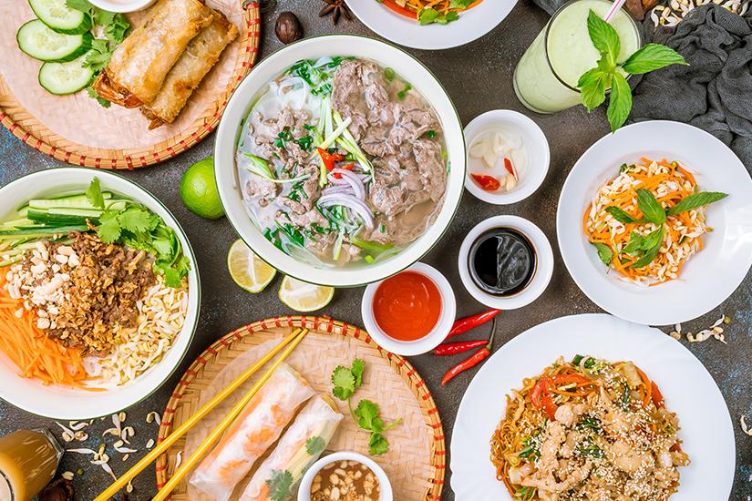 Vietnamesische Spezialitaeten