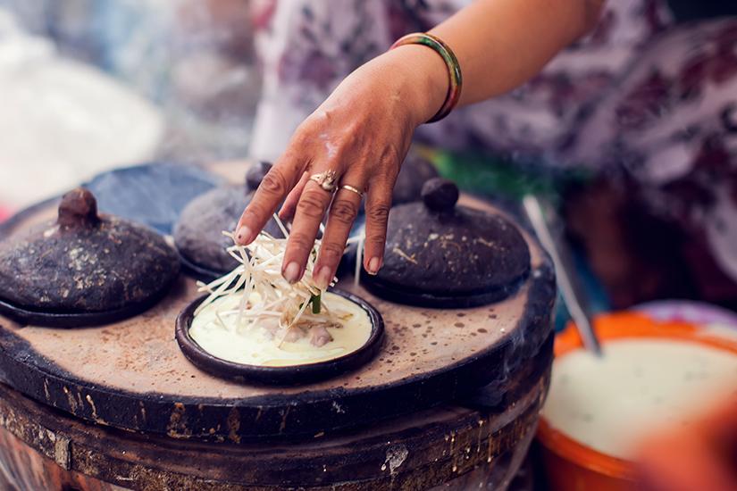 Banh Cuon Nong sind Reispfannkuchen