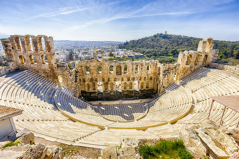 Odeon-Theater an der Akropolis