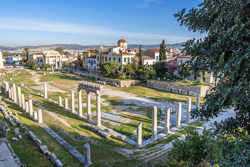 Versammlungsort der Antike Agora