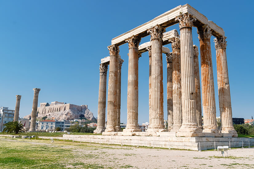 Olympieion in Athen