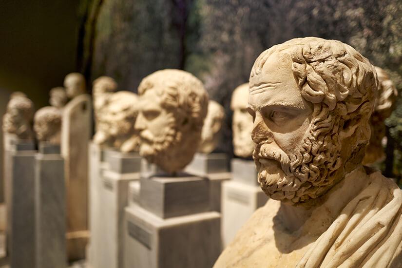 Im Archaeologischen Nationalmuseum in Athen