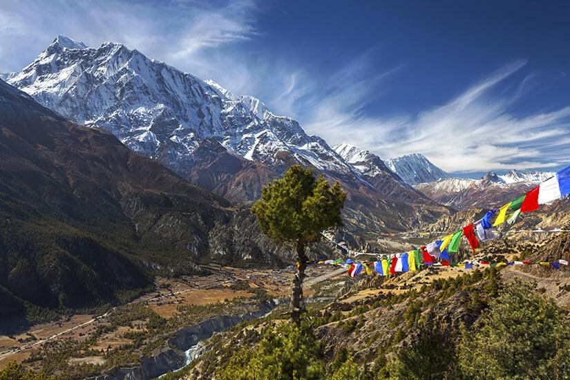 Fernwanderweg Annapurna Circuit in Nepal