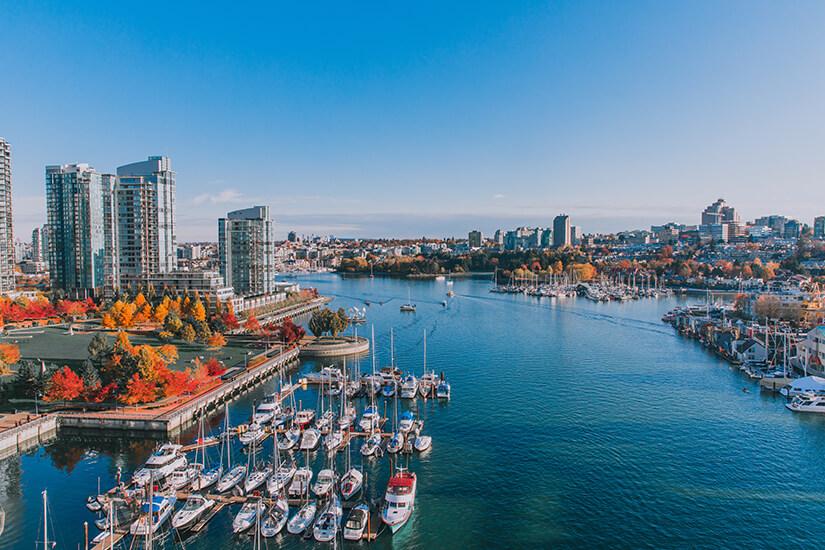 Vancouver im Herbst
