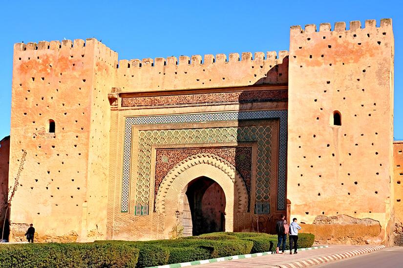 Tor Bab Agnaou in Marrakesch