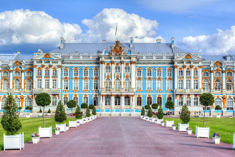 Katharinenpalast ein Wahrzeichen von St. Petersburg