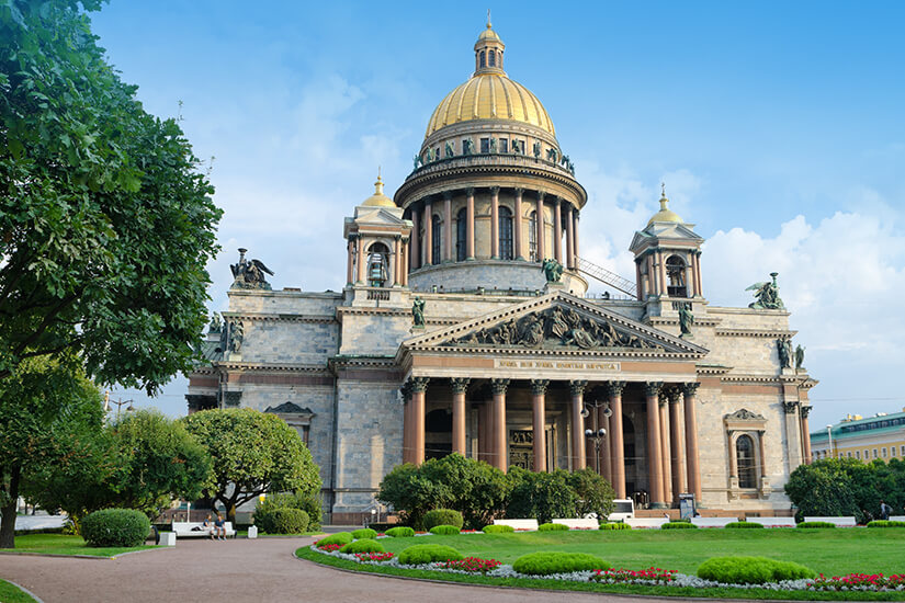 Isaak Kathedrale aus dem 19. Jahrhundert