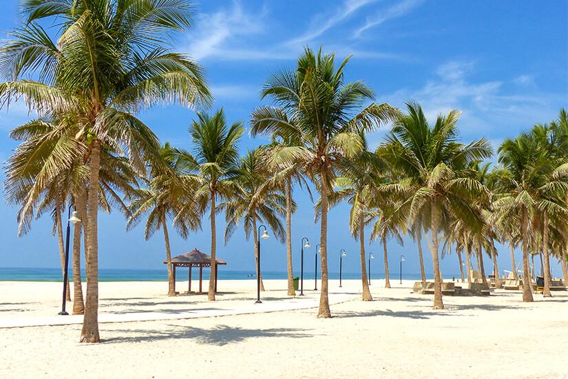 Dahariz Beach in Salalah