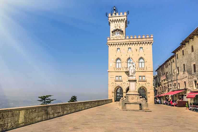 Palazzo Pubblico ist Regierungssitz