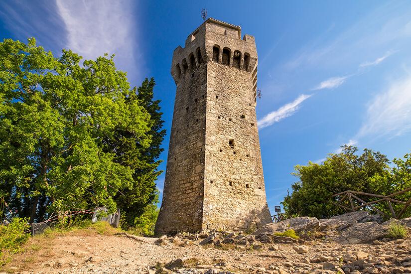 Festungsturm Montale in San Marino
