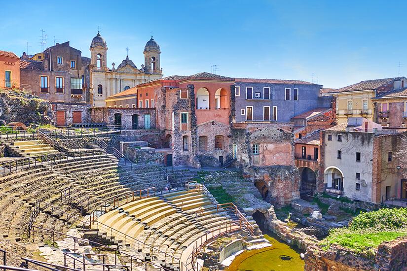 Amphitheater in Catania