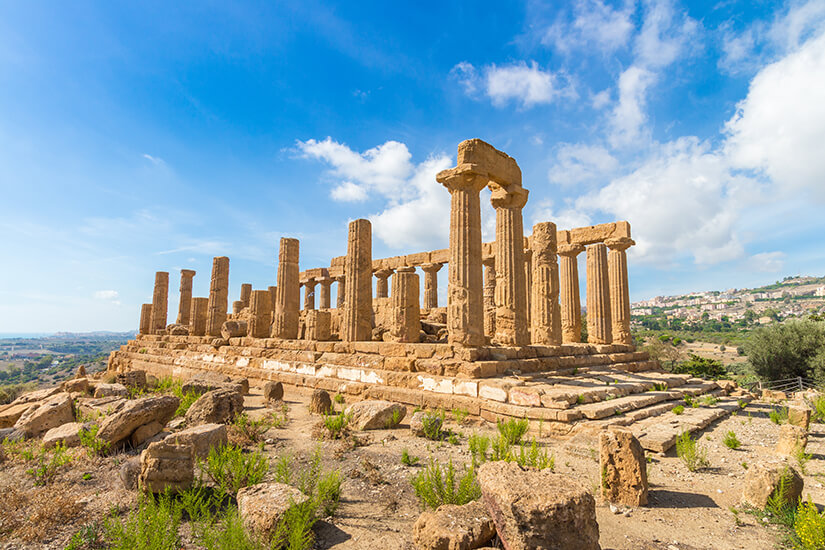 Tal der Tempel in Agrigent