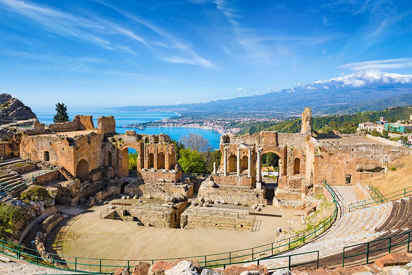Griechisches Theater in Taormina