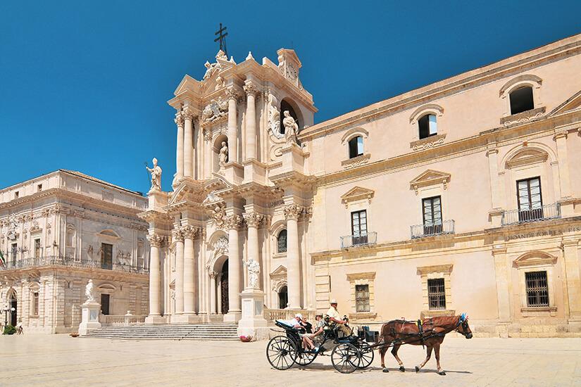 Dom Santa Maria delle Colonne in Syrakus