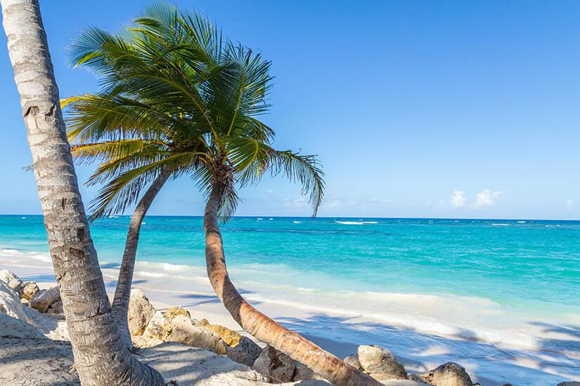 Strand von Bavaro in der Dominikanischen Republik