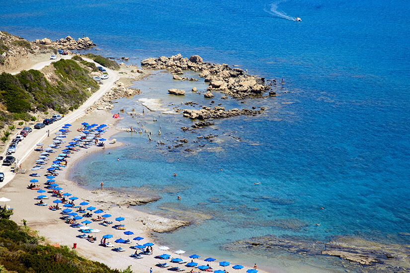 Strand von Faliraki