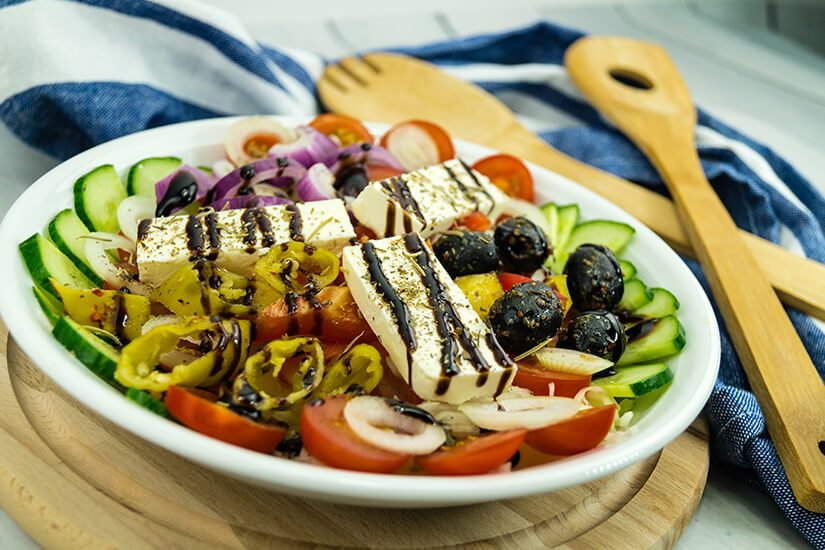 Typisch griechischer Hirtensalat