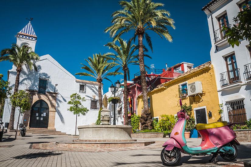 Sehenswerte Altstadt von Marbella