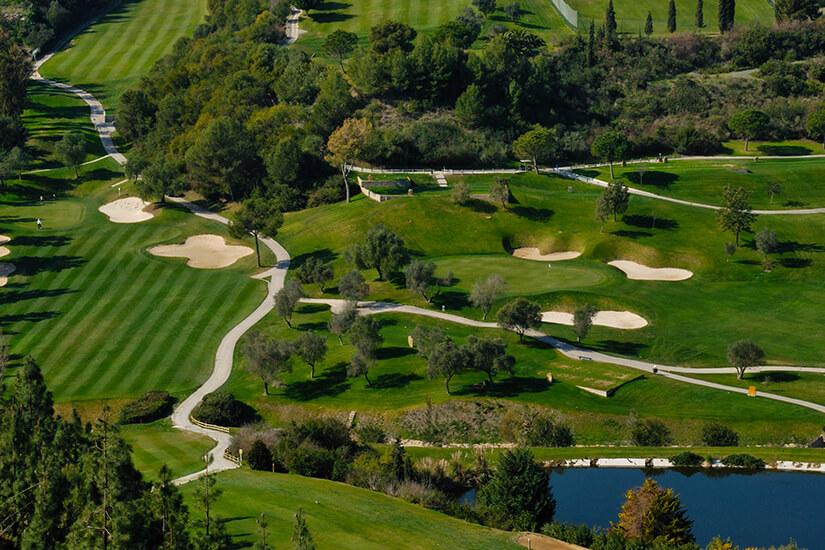 Golfplatz bei Marbella