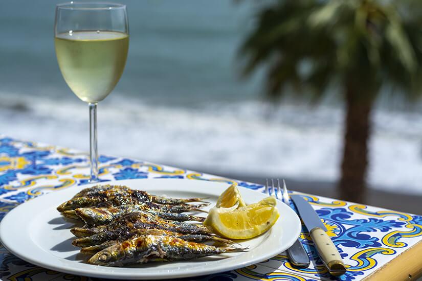 Frischer Fisch an der Costa del Sol