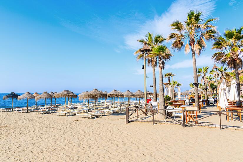 Perfekter Badeurlaub in Marbella