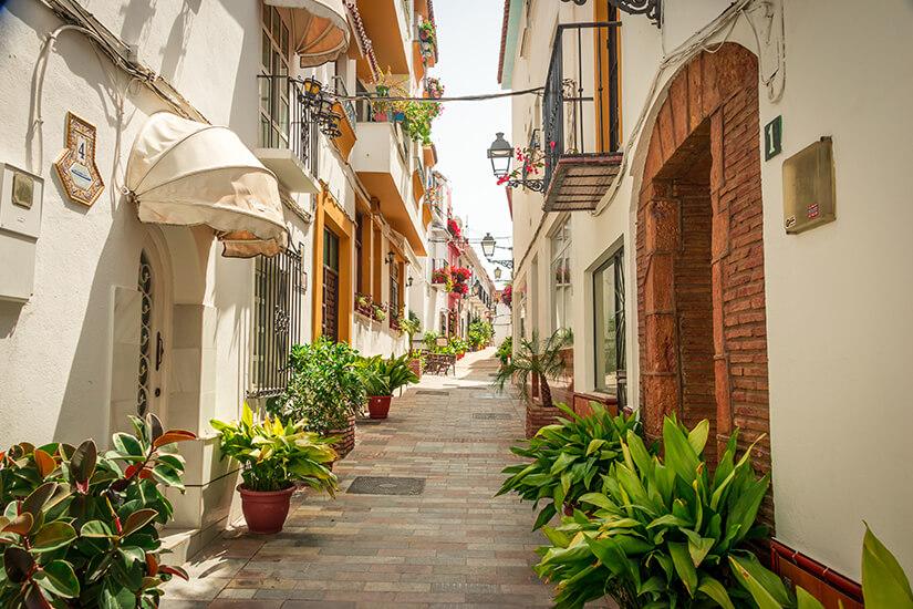 Unterwegs in Marbella