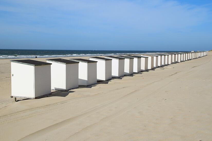 Strandhuetten bei Westenschouwen
