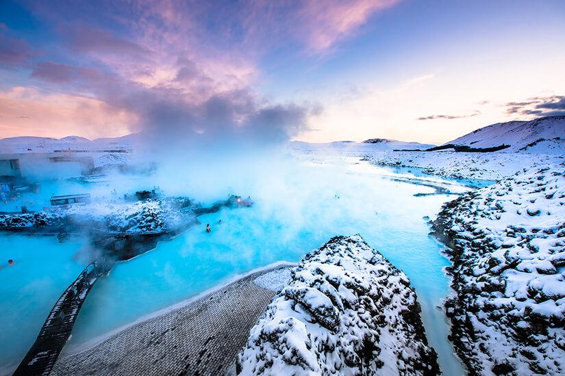 Blaue Lagune nahe Reykjavik