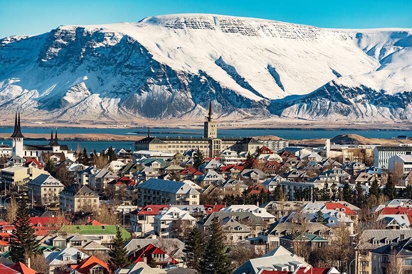 Hauptstadt Reykjavik
