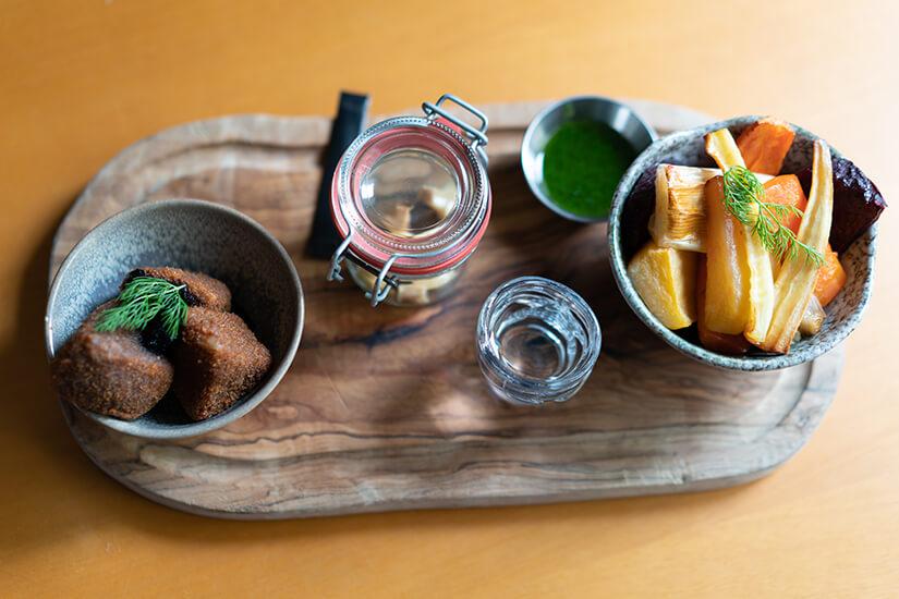 Traditionelles islaendisches Essen