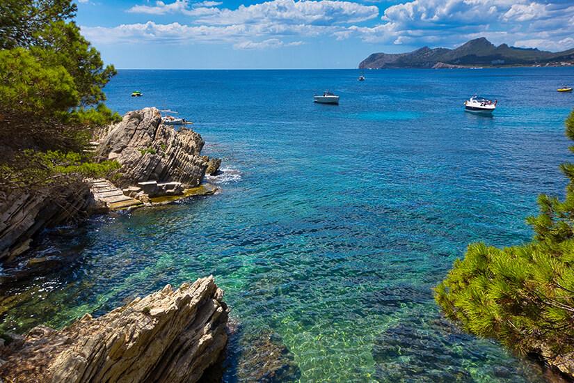 Bucht von Cala Gat
