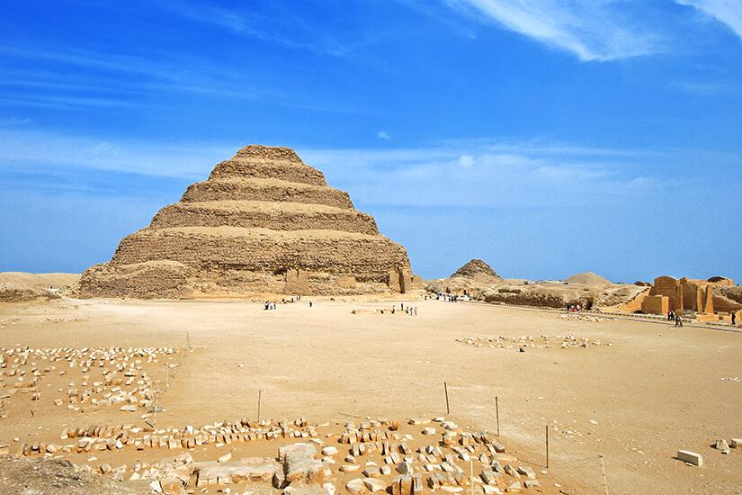 Djoser-Pyramide in Sakkara