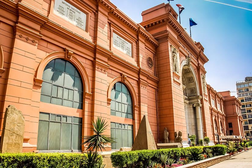 Aegyptisches Museum in Kairo