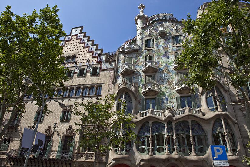 Casa Batllo von Gaudi