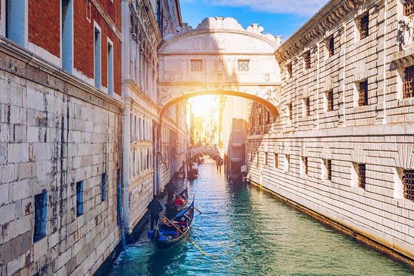 Seufzerbruecke Venedig