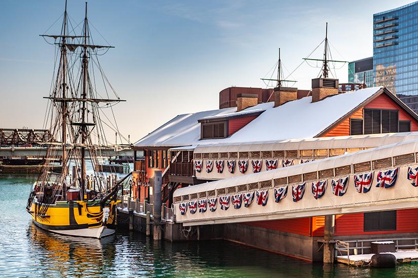Boston Tea Party Ships