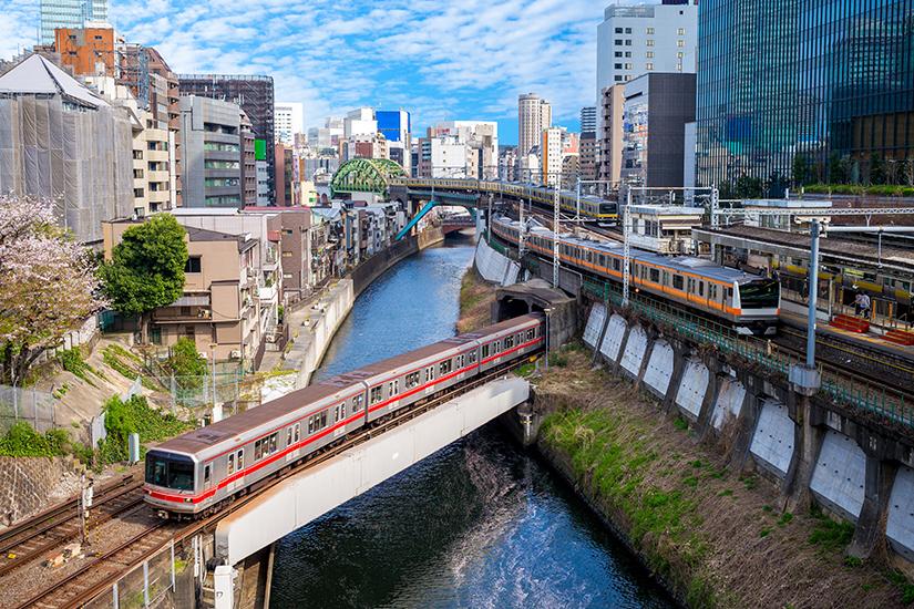 Metro System in Tokio